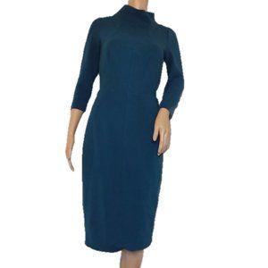 BODEN Marisa Teal Day Dress